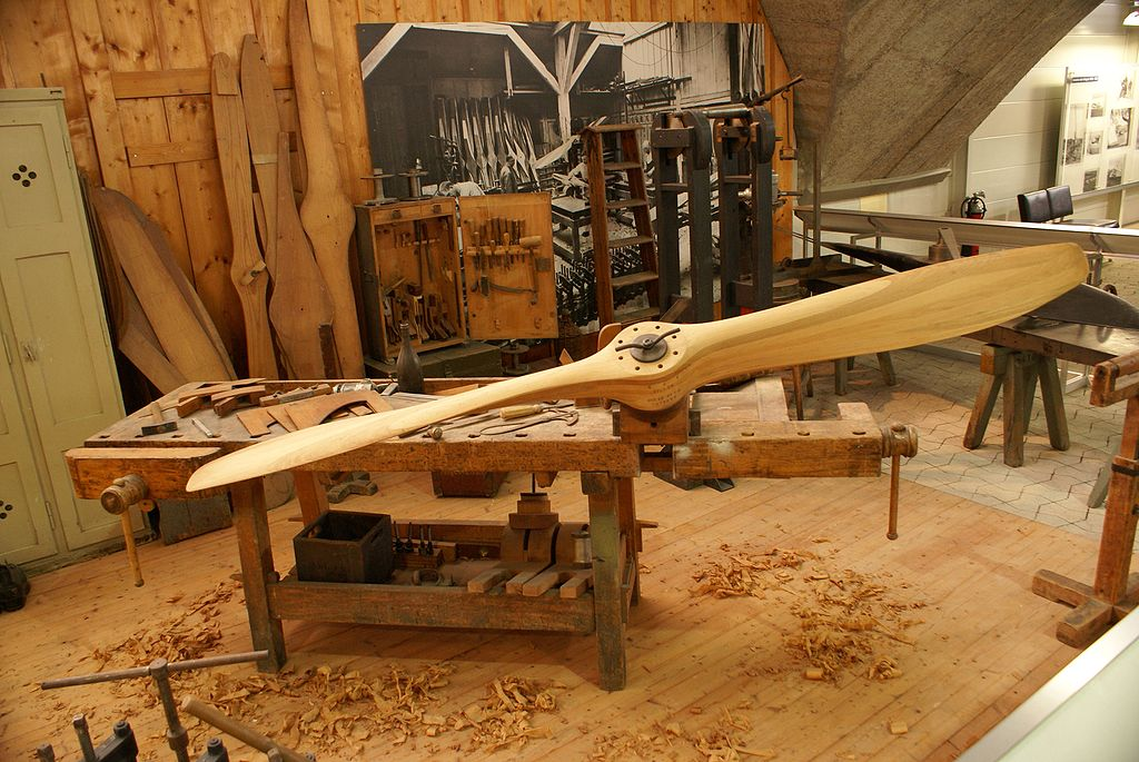 Wooden Workbench As Kitchen Table