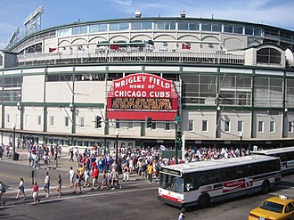 Sports in Chicago - Wrigley Field is the home of the Chicago Cubs.