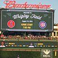 Wrigley Field right field video board IMG 2429 (cropped).jpg