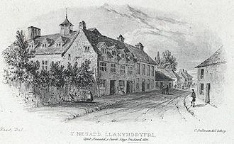Rhys Prichard - Y Neuadd, Llanymddyfri, the home of Rhys Prichard