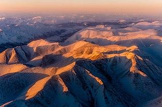 Verkhoyansk Range mountain range