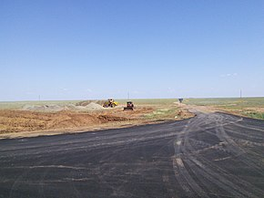 Yashkulsky District Road Construction.jpg