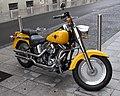Yellow Harley (3821989645).jpg