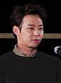 "Yoochun at Busan International Film Festival ""Sea Fog"" outdoor stage greeting, 3 October 2014 02.jpg"