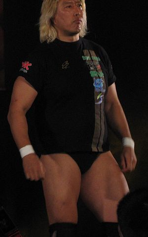 Wrestle Kingdom IV - Freelancer Yoshihiro Takayama, who challenged for the IWGP Heavyweight Championship in the main event of the show