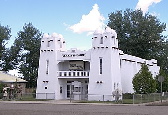 National Register of Historic Places listings in Montana - Yucca Theatre, in Treasure County