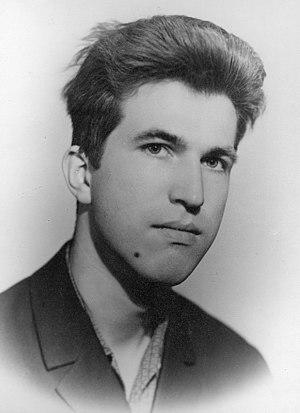 Yuri Matiyasevich - Image: Yuri Matiyasevich. Portrait 1969