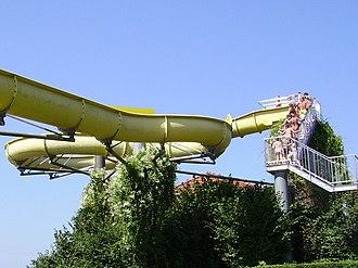 Water slide - A simple body slide