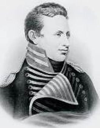 Territorial era of Minnesota - Engraving of Zebulon Pike, who led a U.S. expedition to central Minnesota establishing the first U.S. treaty with the Sioux