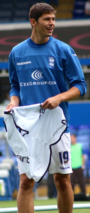 Nikola Žigić - With Birmingham City in 2012 pre-season
