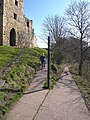 Zigzag path, Warkworth Castle - geograph.org.uk - 1805961.jpg