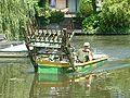Zoetermeer De Leyens Broekwegwetering Mowing boat (2).JPG