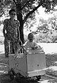 Zolika, 1952 and baby carriage Fortepan 76410.jpg