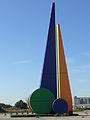 """EVOLUZIONE SILENZIOSE"", abstract kunstwerk, Isabellalaan, Zeebrugge (Brugge).JPG"