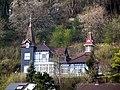 """""""Marmeladenschlösschen"""" - Villa Otto Schilbe von 1901 - Ansicht unterhalb der Villa - Meinhard-Grebendorf - panoramio.jpg"""