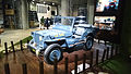 """ 15 - ITALY - Jeep (Fiat) stand in Milan - Willys MB - US NAVY - Seabees corp - U.S.N. NCB 540 blue convertible 4x4 06.jpg"