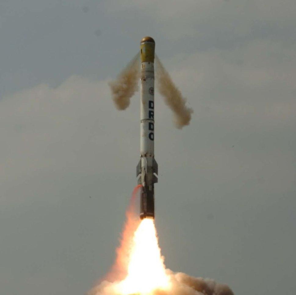 'Shourya' missile test fired on November 12, 2008