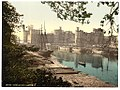 (General view, Carnarvon Castle (i.e. Caernarfon), Wales) LOC 3751645835.jpg