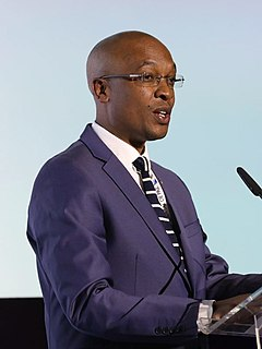 Parks Tau South African politician