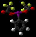 (bis(trifluoroacetoxy)iodo)benzene-3D-balls.png