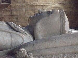 Domenico Fancelli - Detail of the tomb of John, Prince of Asturias.