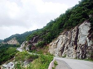 Bảy Núi - Image: Đường lên núi Cấm