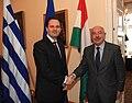 Επίσκεψη ΥΠΕΞ κ. Δ. Δρούτσα σε Βουδαπέστη - FM D. Droutsas visit to Budapest (5207130573).jpg