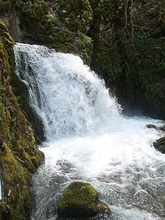 Sana (river) - One of three major wellsprings of the Sana