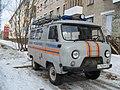 Автомобиль муниципального учереждения Коряжемскя служба спасения.JPG