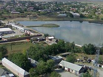 Achkhoy-Martanovsky District - The selo of Achkhoy-Martan, the administrative center of the district