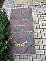 Братська могила у с.Надєждівка, меморіальна табличка 2.JPG