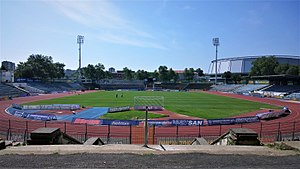 Gradski Stadium - Image: Градски стадион в Русе 2017