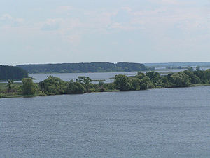 Ivankovo Reservoir - Image: Иваньковское водохранилище