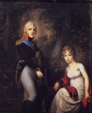 Elizabeth Alexeievna (Louise of Baden) - Alexander and Elizabeth