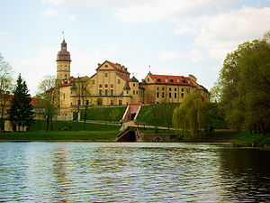Nesvizh Castle - View from the lake