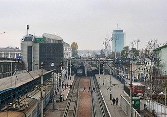 Kiev Urban Electric Train - Image: Північні платформи, ст. Київ Товарний