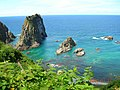 島武意海岸(Shimamui beach, Shyakotan) - panoramio.jpg