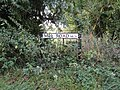-2018-10-08 Street name sign, Mill road, Bacton.JPG