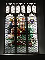 -2019-01-25 Stained glass window, South side of the nave, Saints Peter and Paul, Edgefield, Norfolk.JPG