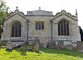 001 Stoke Rochford Ss Andrew & Mary, exterior - from the east.jpg