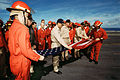 010930-N-1328C-013 WTC Flag on board USS Theodore Roosevelt.jpg