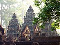 014 Banteay Srei Temple at Dawn, Cambodia.jpg