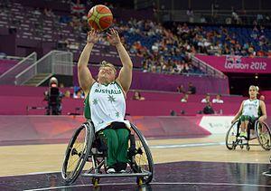 Kylie Gauci - Gauci at the 2012 London Paralympics