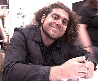 Claudio Sanchez - Sanchez at the New York Comic Con in Manhattan, October 9, 2010