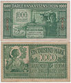 1000 Lithuanian German ostmarks, 1918.jpg