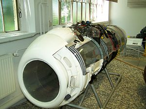 GT 101 - A preserved BMW 003 aviation engine, the basis for the GT 101 turboshaft.