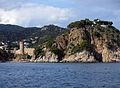 108 Tossa de Mar, torre des Codolar, cap de Tossa i far.JPG