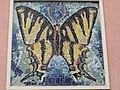 1100 Angeligasse 18-18b Antonsplatz 14-15 Stg. 2 - Wandmosaik Schmetterling von Emmerich Schaffran 1957 IMG 7821.jpg