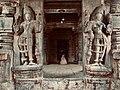 11th century Panchalingeshwara temples group, Kalyani Chalukya, Sedam Karnataka India - 54.jpg