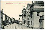 13046-Grünhainichen-1911-Hauptstraße, Rathaus und Post-Brück & Sohn Kunstverlag.jpg